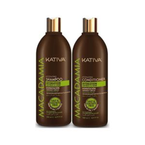 Kativa Macadamia Champú 500ml + Acondicionador 500ml