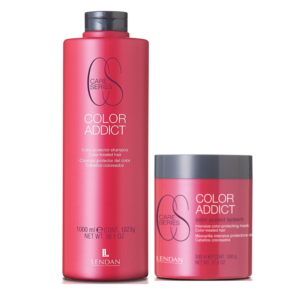 Lendan Care Series Color Addict Protector De Color Champú 1000ml + Mascarilla 500ml