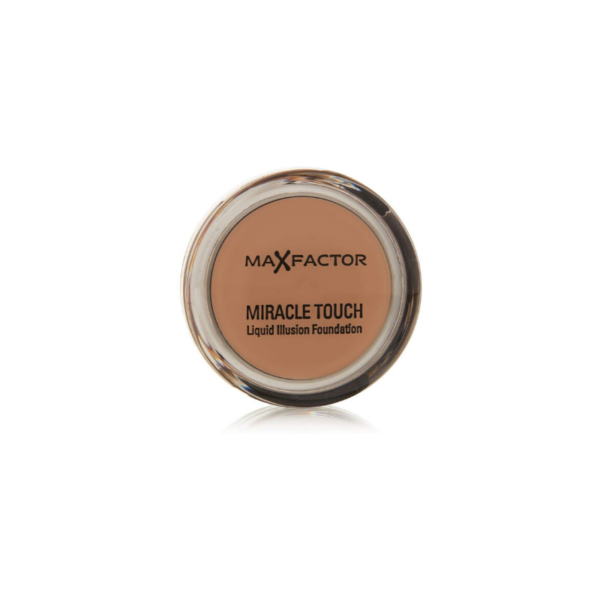 Max Factor Miracle Touch Liquid Illusion Foundation 85 Caramel 34ml
