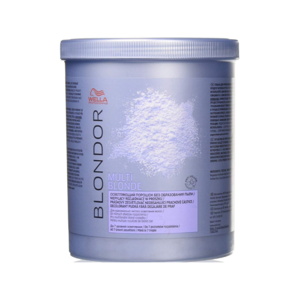 Wella Professional Polvo Decolorante Blondor Multi Blonde Powder Bleach 800gr