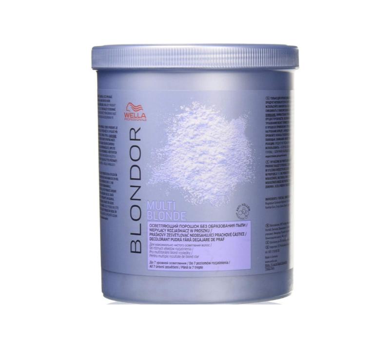Wella Professional Polvo Decolorante Blondor Multi Blonde Powder Bleach 800gr
