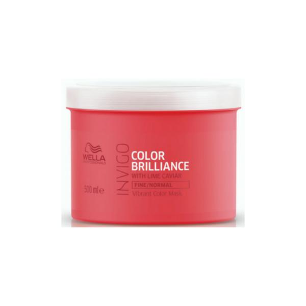 Wella Professionals Invigo Color Brilliance Cabello Fino/ Normal Mascarilla 500ml