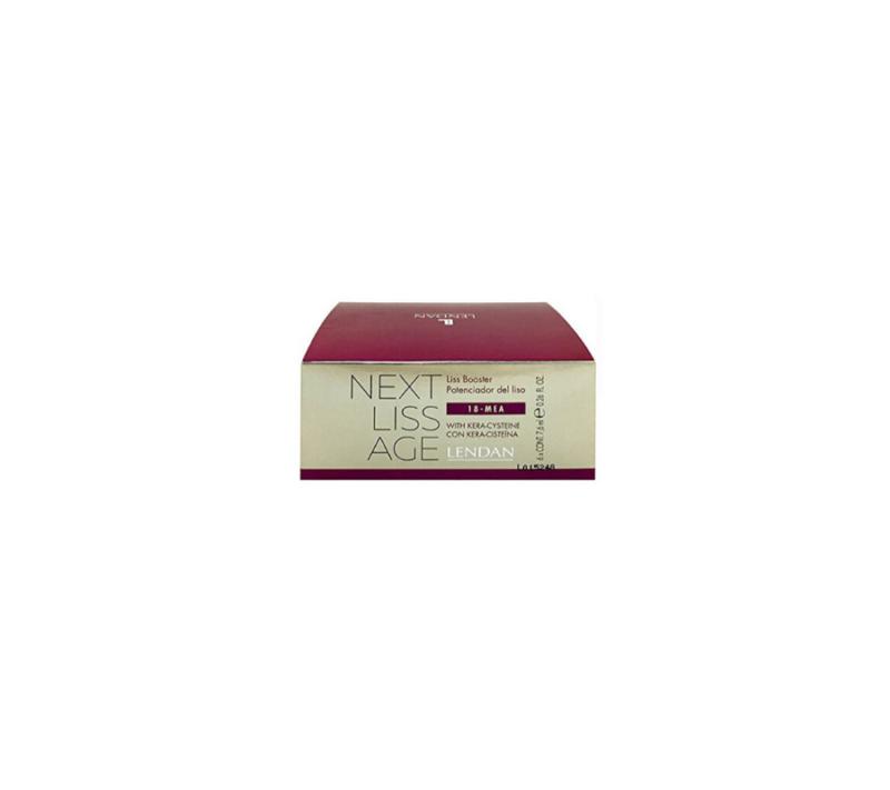 Lendan Next Liss Age Liss Booster Potenciador De Liso 6x7,6ml