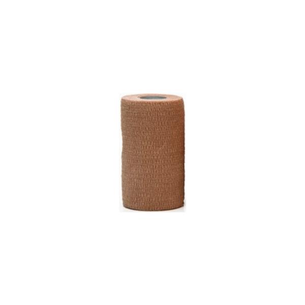 Venda Elástica Cohesiva Nt 10cm x 4,5m Latex Color Beige