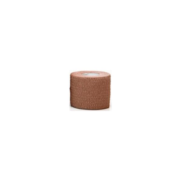 Venda Elástica Cohesiva Nt 5cm x 4,5m Latex Color Beige