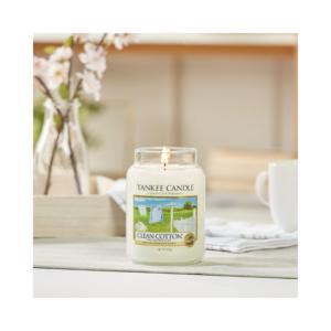 Yankee Candle Vela En Tarro Clean Cotton 623gr
