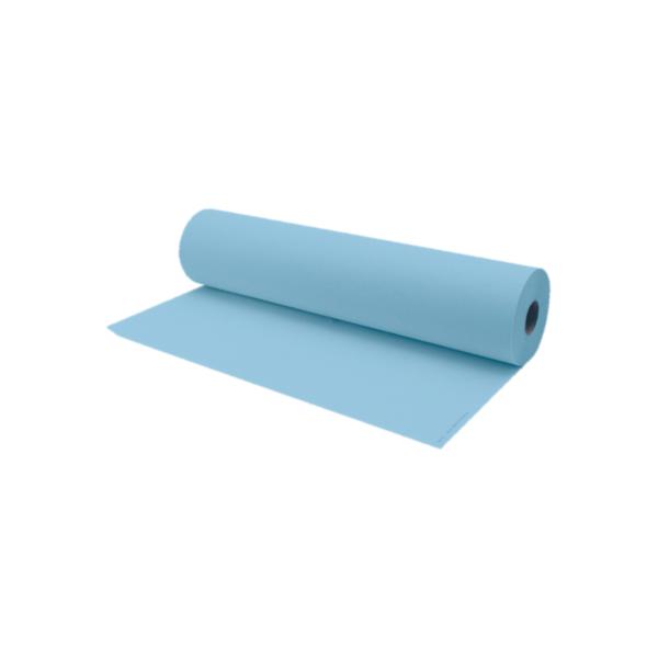 Rollo De Papel Camilla 75 a 80 Metros Aproximadamente Color Azul