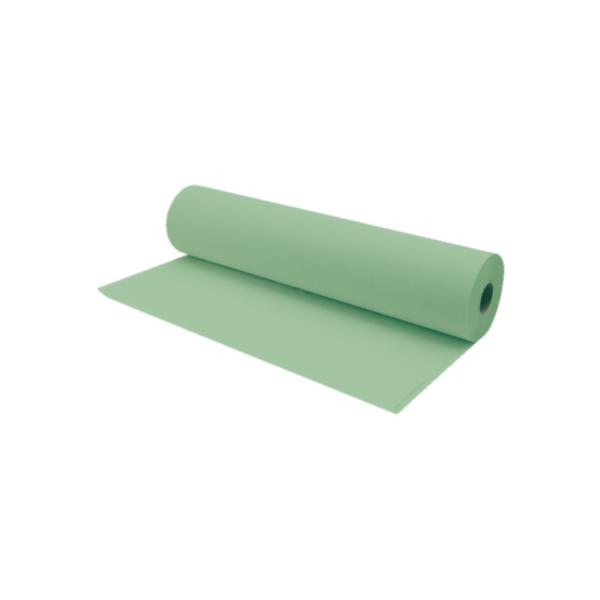 Rollo De Papel Camilla 75 a 80 Metros Aproximadamente Color Verde