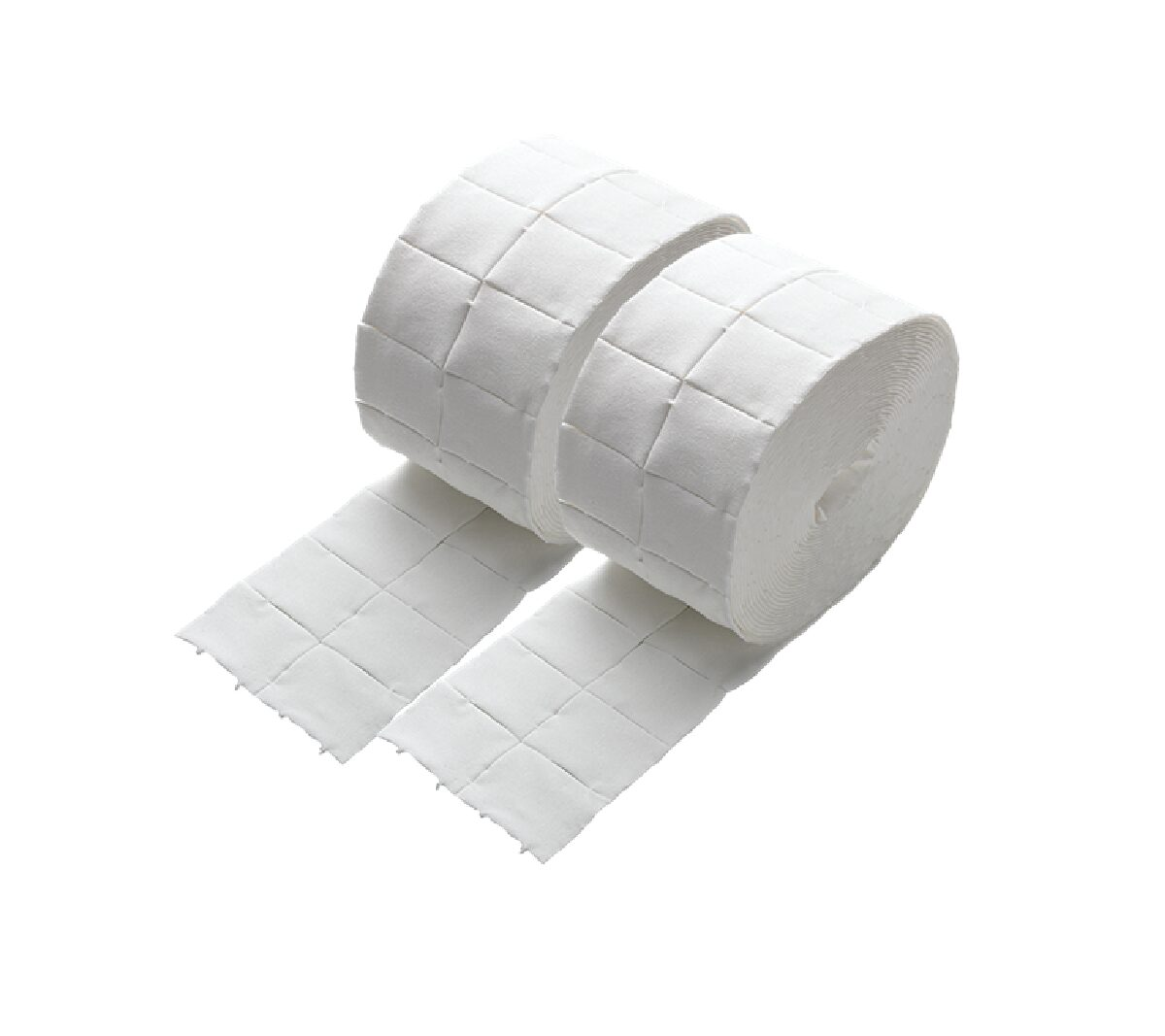 Cuadritos de Celulosa 4x5cm 2×500 unidades