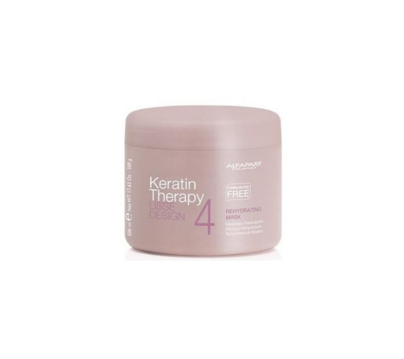 Alfaparf Lisse Desing Keratin Therapy Rehydrating Mascarilla 500ml
