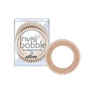 Invisibobble Slim Bronze Me Pretty 3 Unidades