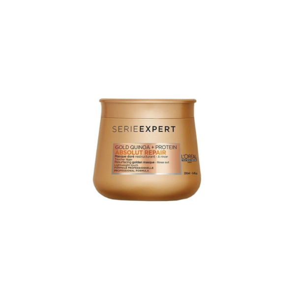 L´Oreal Serie Expert Mascarilla Golden Gold Quinoa + Protein Absolut Repair 250ml