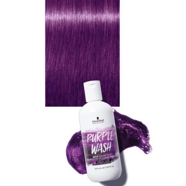Schwarzkopf Bold Color Wash Purple Wash 300ml
