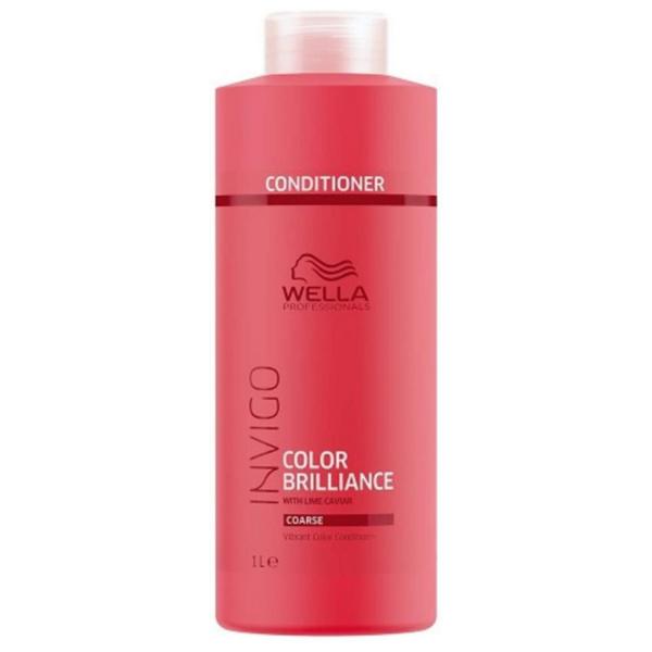 Wella Professionals Invigo Color Brilliance Cabello Grueso Acondicionador 1000ml