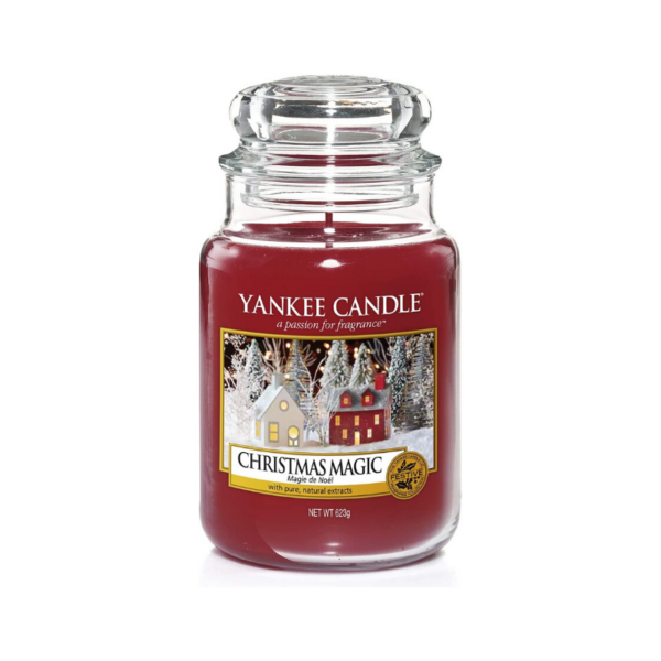 Yankee Candle Vela En Tarro Christmas Magic 623gr