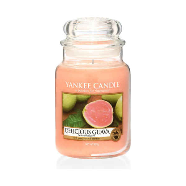 Yankee Candle Vela En Tarro Delicious Guava 623gr