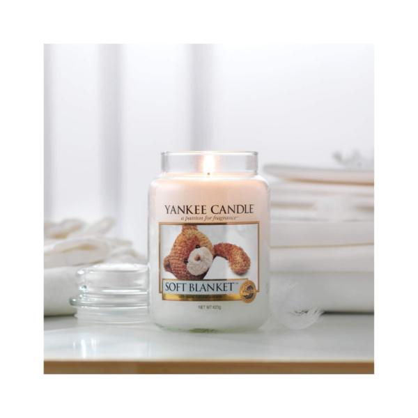 Yankee Candle Vela En Tarro Soft Blanket 623gr