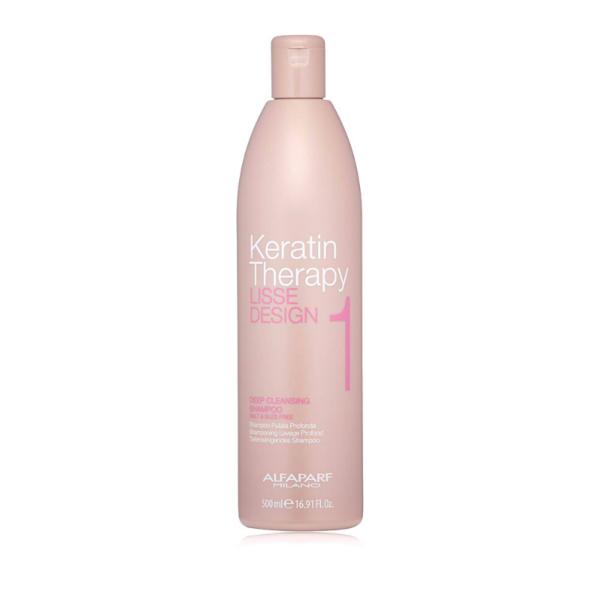 Alfaparf Keratin Therapy Lisse Desing 1 Deep Cleasing Champú 500ml
