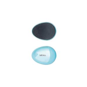 Bifull Profesional Cepillo Desenredante Mini Chrome Azul