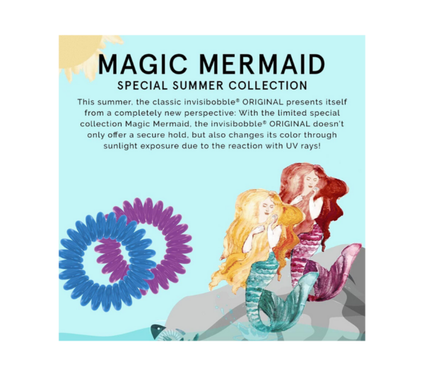 Invisibobble Original Magic Mermaid