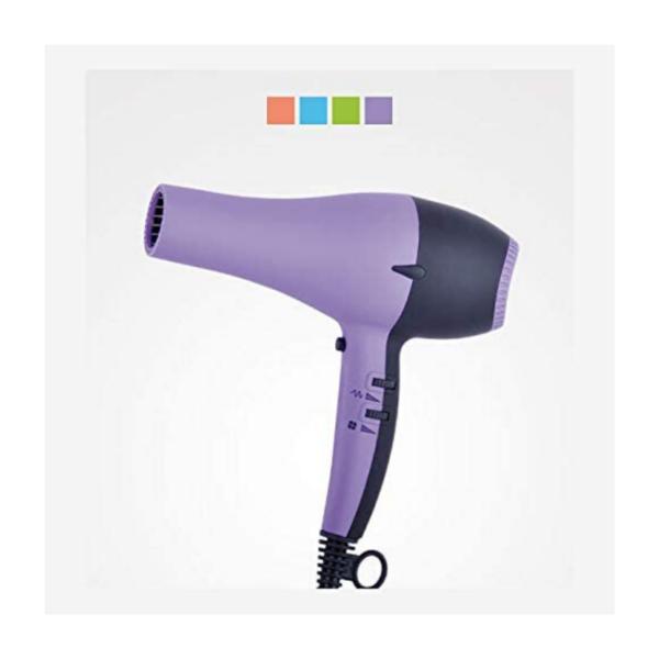 Perfect Beauty Secador De Pelo Uv Dryer Con Luz Ultravioleta 2200w Profesional Color Violeta