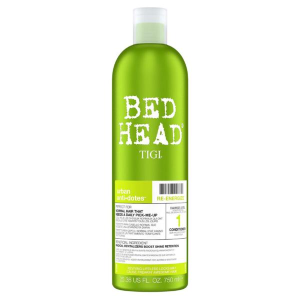 Tigi Bed Head Acondicionador Urban Anti+Dotes Level 1 Re-Energize 750ml