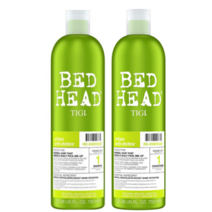 Tigi Bed Head Urban Anti+Dotes Level 1 Re-Energize Champú 750ml + Acondicionador 750ml