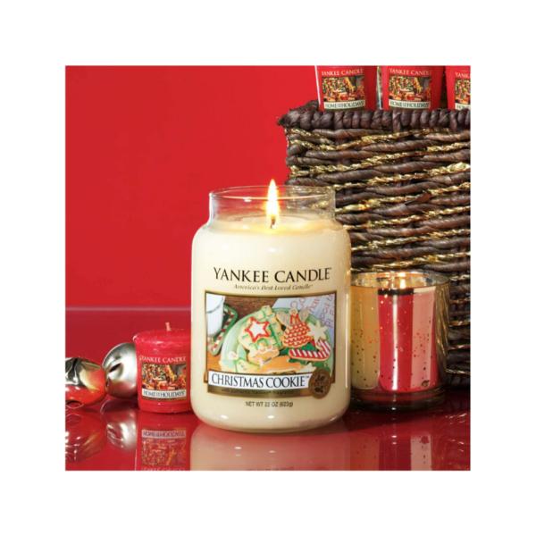 Yankee Candle Vela En Tarro Christmas Cookie 623gr