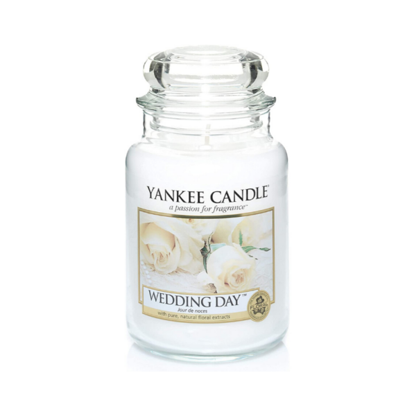 Yankee Candle Vela En Tarro Wedding Day 623gr