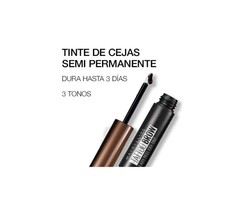 Maybelline Tatto Brown Easy Peel Off Tint Dark Brown