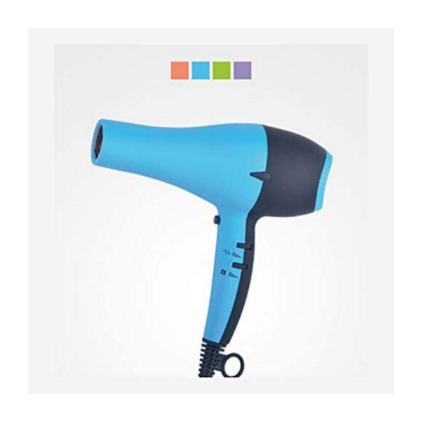 Perfect Beauty Secador De Pelo Uv Dryer Con Luz Ultravioleta 2200w Profesional Color Azul