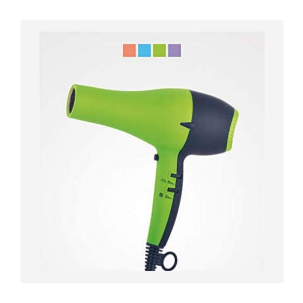 Perfect Beauty Secador De Pelo Uv Dryer Con Luz Ultravioleta 2200w Profesional Color Verde