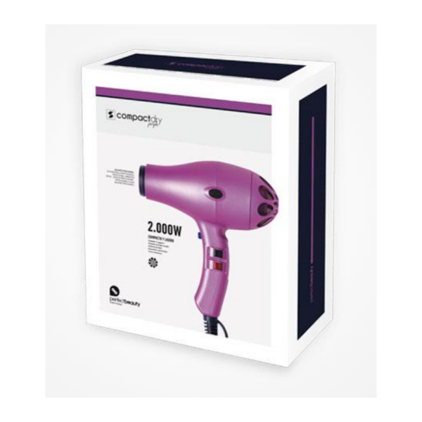 Perfect Beauty Compact Dry 2000w Profesional Color Purpura Mate