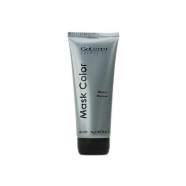 Salerm Cosmetics Mask Color Platinum 200ml