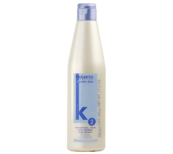 Salerm Kit Keratin Shot Crema Alisadora 500ML
