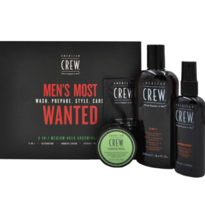 American Crew 4-In-1 Medium Hold Grooming Kit