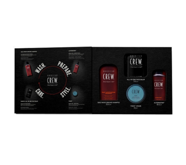 American Crew 4-In-1 Strong Hold Grooming Kit