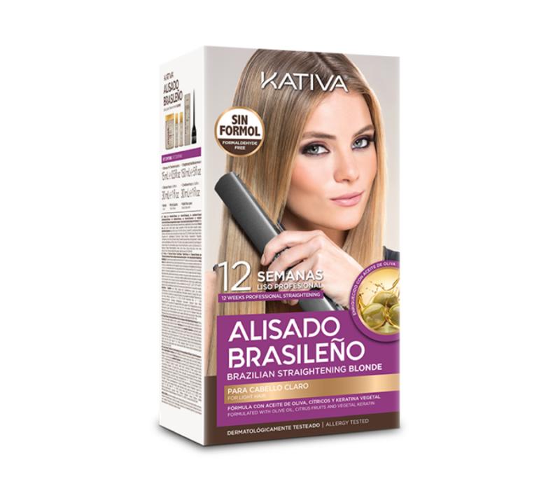 Kativa Alisado Brasileño Blonde 12 Semanas