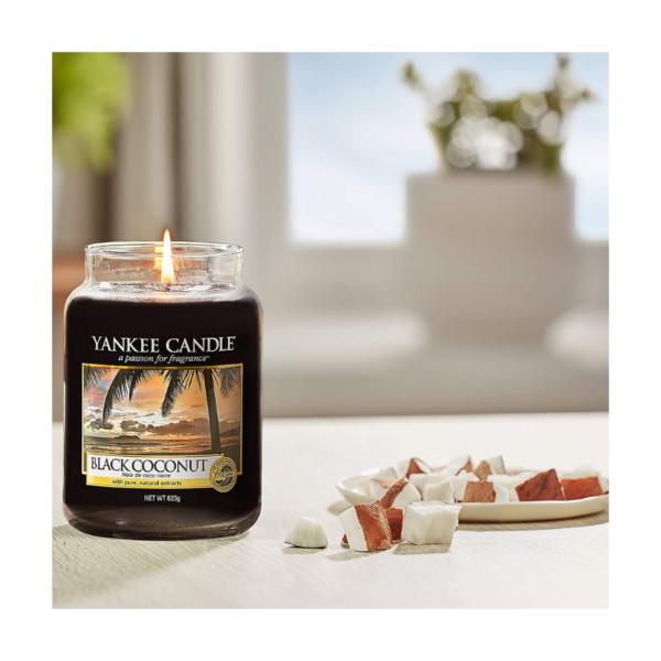 Yankee Candle Vela En Tarro Black Coconut 623gr