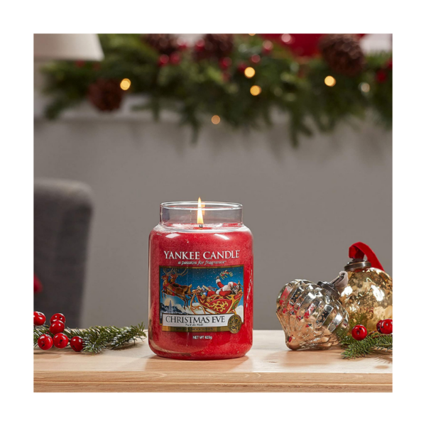 Yankee Candle Vela En Tarro Christmas Eve 623gr
