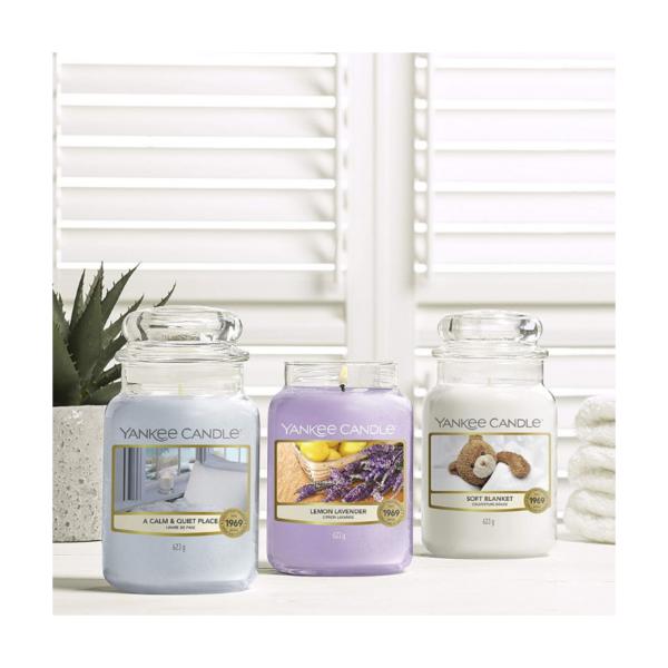 Yankee Candle Vela En Tarro Lemon Lavender 623gr