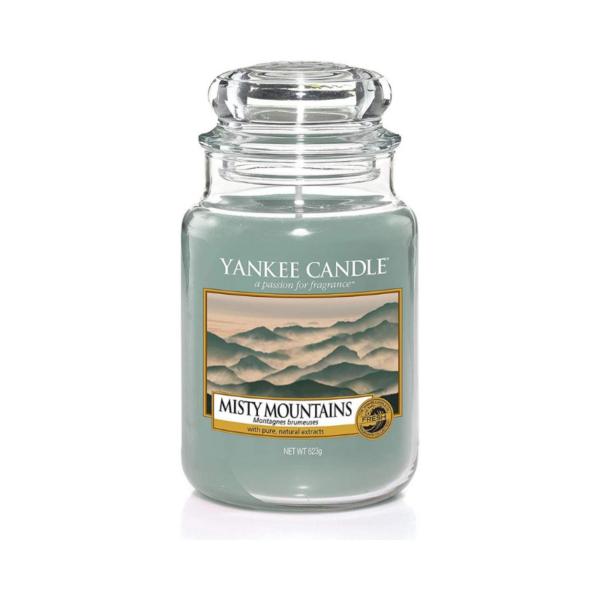 Yankee Candle Vela En Tarro Misty Mountains 623gr