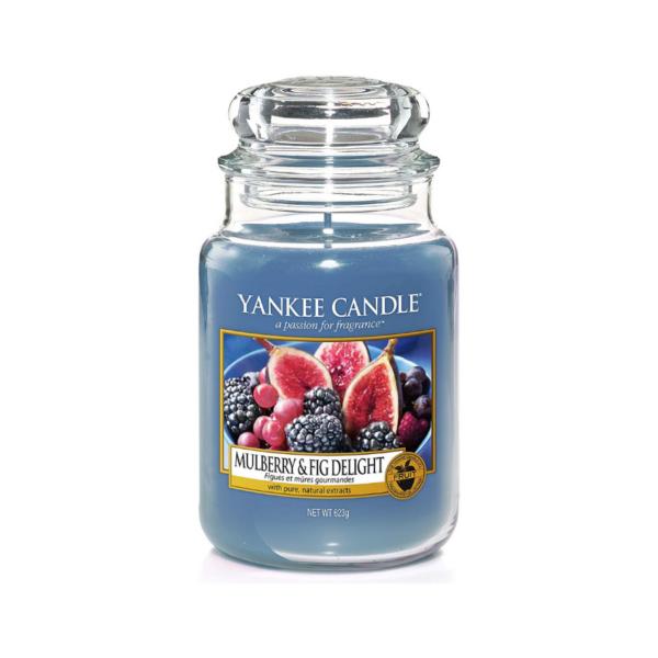 Yankee Candle Vela En Tarro Mulberry & Fig Delight 623gr
