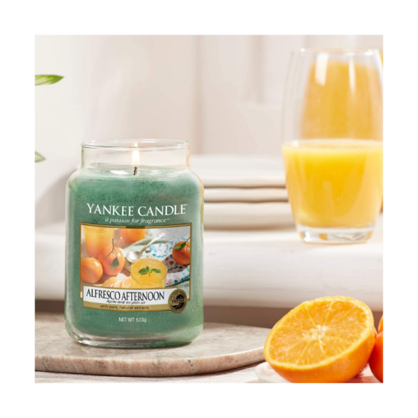 Yankee Candle Vela En Tarro Alfresco Afternoon 623gr