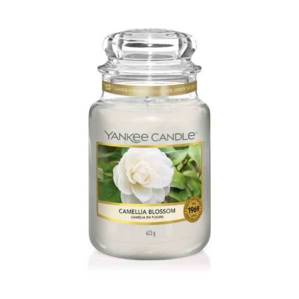 Yankee Candle Vela En Tarro Camellia Blossom 623gr