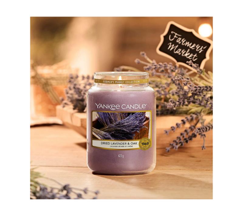 Yankee Candle Vela En Tarro Dried Lavender & Oak 623gr