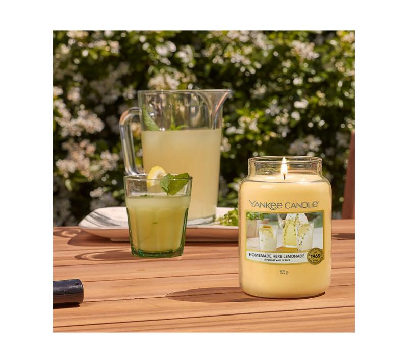 Yankee Candle Vela En Tarro Homemade Herb Lemonade 623gr