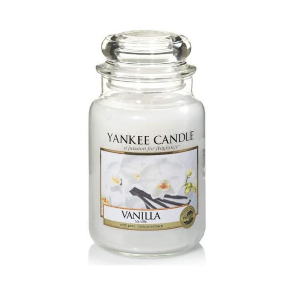 Yankee Candle Vela En Tarro Vanilla 623gr