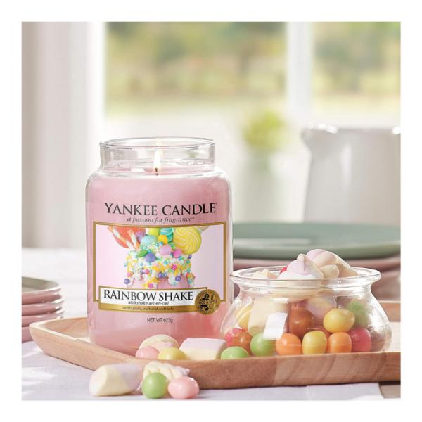 Yankee Candle Vela En Tarro Rainbow Shake 623gr