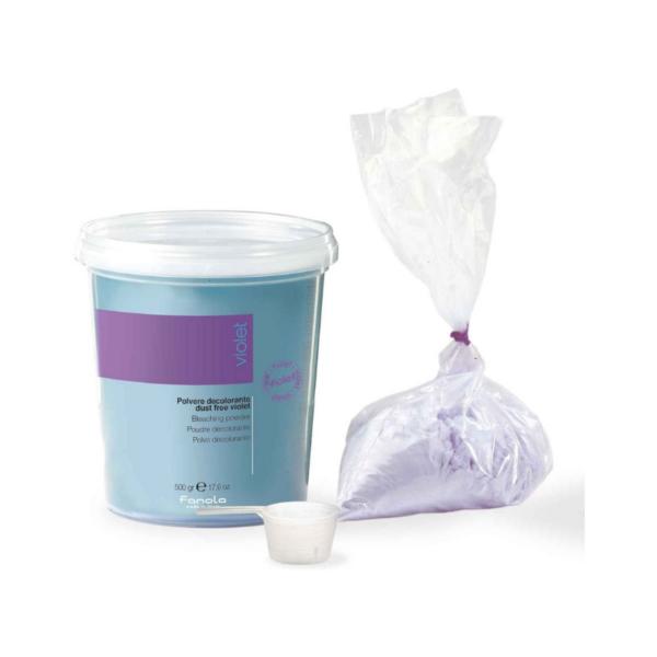 Fanola Polvo Decolorante Dust Free Violeta 500gr